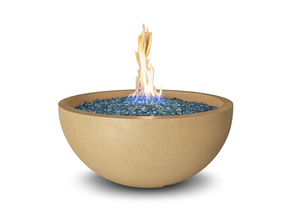 "American Fyre Designs 36"" Fire Bowl with Electronic Ignition + Free Cover - The Fire Pit Collection"