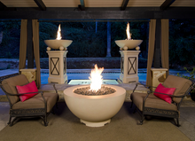 "American Fyre Designs 48"" Fire Bowl with Electronic Ignition + Free Cover - The Fire Pit Collection"