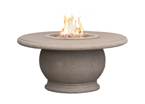 American Fyre Designs Amphora Firetable + Free Cover - The Fire Pit Collection