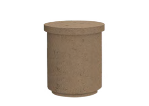 American Fyre Designs Contempo Tank / End Table - The Fire Pit Collection