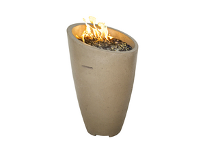 American Fyre Designs Eclipse Fire Urn + Free Cover - The Fire Pit Collection