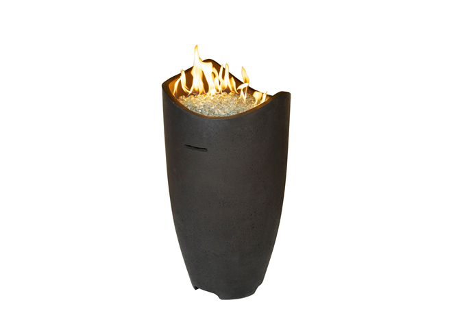 American Fyre Designs Wave Fire Urn + Free Cover - The Fire Pit Collection