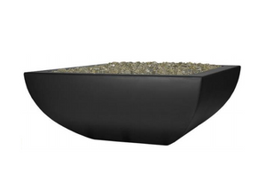 Fire by Design Legacy Low Square Fire Bowl / Electronic Ignition