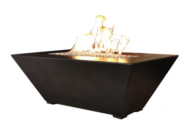 Fire by Design Geo Rectangle Fire Pit