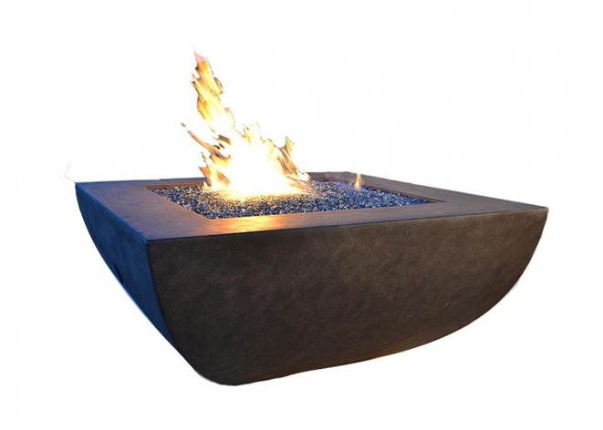Fire by Design Legacy Square Fire Pit / Electronic Ignition