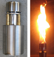 Fire by Design Tulip Automated Gas Tiki Torch + Free Cover - The Fire Pit Collection