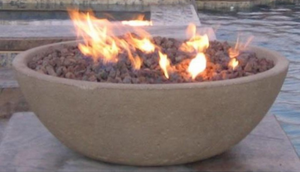 Fire by Design Wok Fire Bowl / Electronic Ignition + Free Cover - The Fire Pit Collection