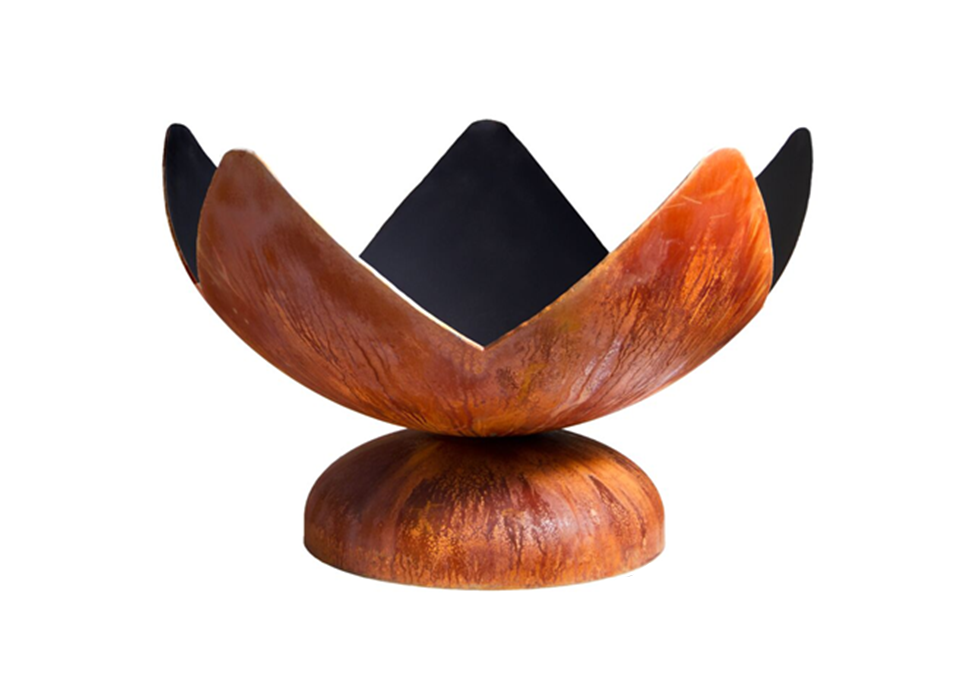 Ohio Flame Fire Flower Artisan Fire Bowl - The Fire Pit Collection