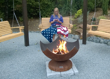Ohio Flame Stellar Artisan Fire Bowl - The Fire Pit Collection
