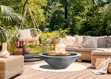 "Prism Hardscapes 48"" Embarcadero Fire Table with Electronic Ignition + Free Cover - The Fire Pit Collection"