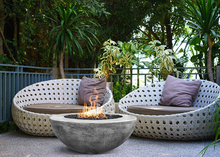 "Prism Hardscapes 36"" Moderno 5 Fire Bowl + Free Cover - ships in 3-4 weeks"