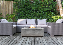 "Prism Hardscapes 48"" x 48"" Tavola 3 Fire Table with Electronic Ignition + Free Cover - ships in 3-4 weeks"