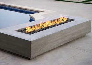 "Prism Hardscapes 90"" x 38"" Tavola 6 Fire Table + Free Cover - ships in 3-4 weeks"