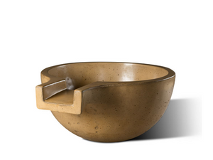 "Slick Rock Concrete Spill Classic LG 36"" Water Bowl"