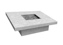 "The Outdoor Plus 48"" x 48"" x 16"" Ready-to-Finish Square Gas Fire Table Kit + Free Cover - The Fire Pit Collection"