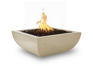The Outdoor Plus Avalon Concrete Fire Bowl + Free Cover - The Fire Pit Collection