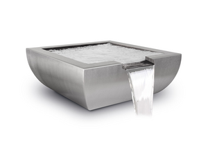 The Outdoor Plus Avalon Stainless Steel Water Bowl + Free Cover - The Fire Pit Collection