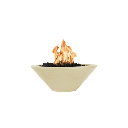 The Outdoor Plus Cazo Concrete Fire Bowl + Free Cover - The Fire Pit Collection