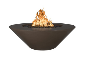 The Outdoor Plus Cazo Concrete Fire Pit + Free Cover - The Fire Pit Collection