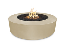 "The Outdoor Plus 72"" Florence Concrete Fire Pit + Free Cover - The Fire Pit Collection"