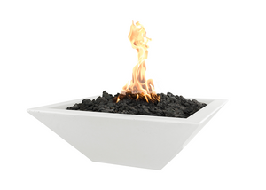 The Outdoor Plus Maya Concrete Fire Bowl + Free Cover - The Fire Pit Collection