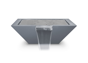The Outdoor Plus Maya Powdercoated Steel Water Bowl + Free Cover - The Fire Pit Collection