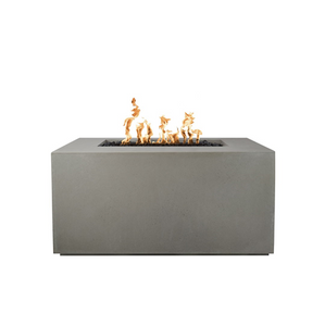The Outdoor Plus Pismo Concrete Gas Fire Pit + Free Cover - The Fire Pit Collection