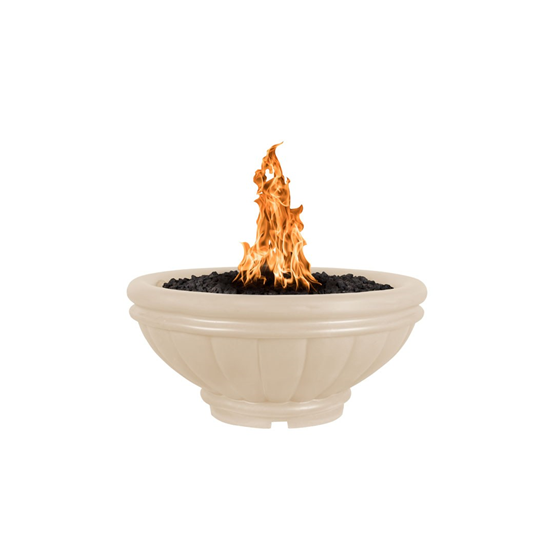 The Outdoor Plus Roma Concrete Fire Bowl + Free Cover - The Fire Pit Collection