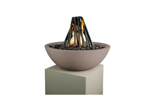 The Outdoor Plus Steel Logs - The Fire Pit Collection