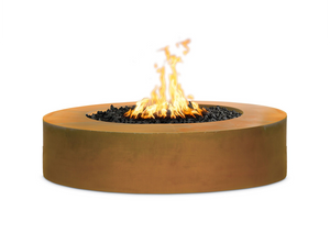 "The Outdoor Plus Unity Steel Fire Pit - 18"" Tall + Free Cover - The Fire Pit Collection"