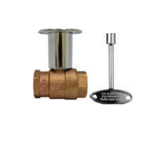 "The Outdoor Plus 3/4"" On/Off Straight Key Valve - The Fire Pit Collection"