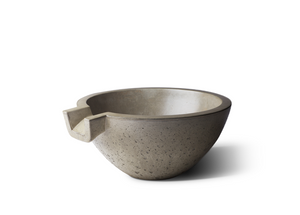 "Slick Rock Concrete Spill Classic 24"" Water Bowl"