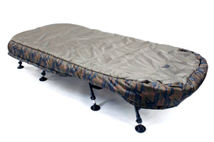 Skills Skills Camo 8 Leg Wide Sleep System  - Parkfield Angling Centre