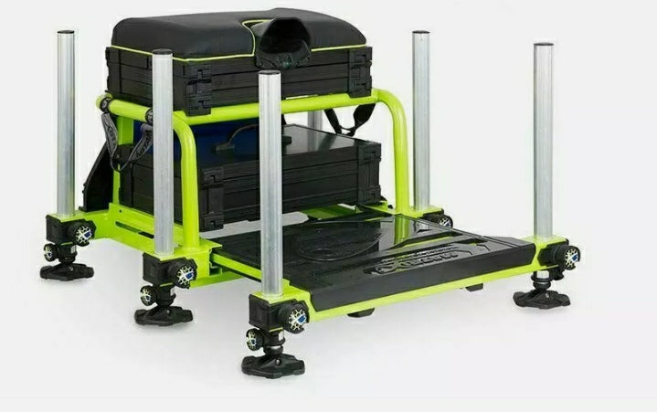 matrix Matrix S36 Superbox Lime + Black  - Parkfield Angling Centre