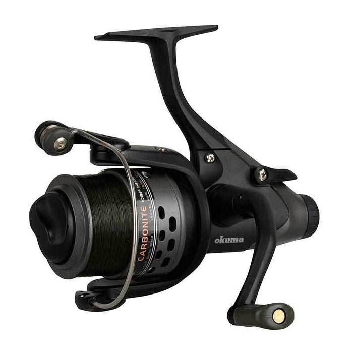 Okuma Carbonite CBF155a Baitfeeder Reels Set of 2
