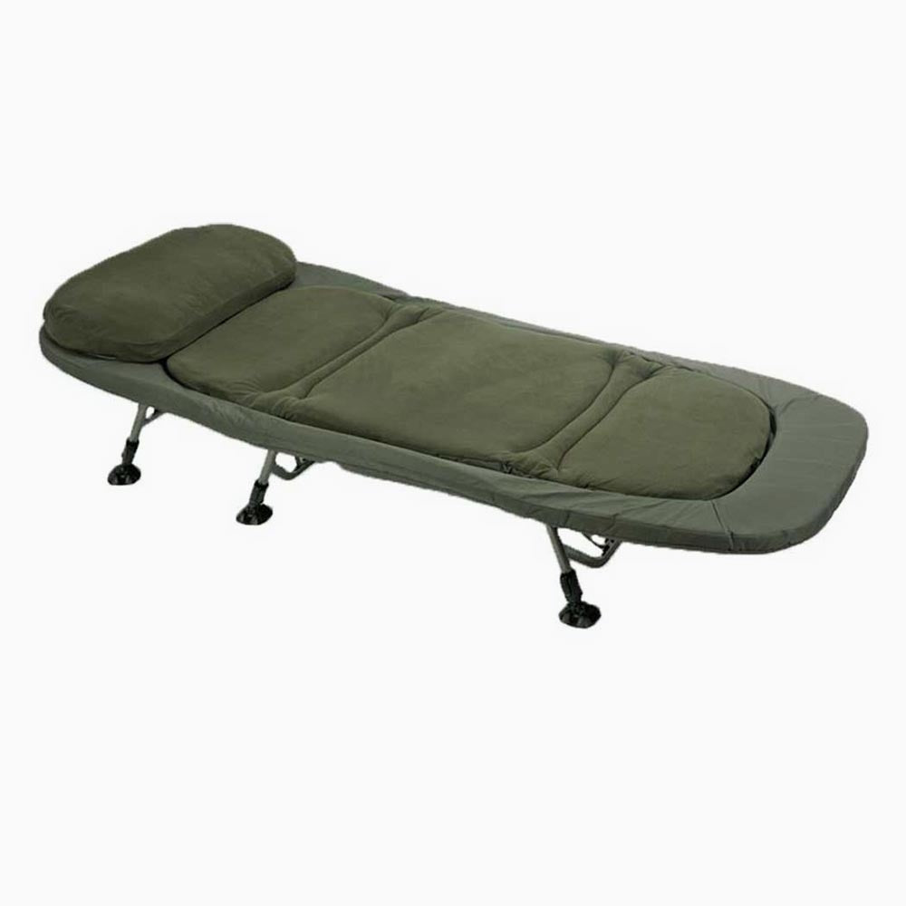 Parkfield Angling Centre TFG Flatout 6 Leg Bedchair  - Parkfield Angling Centre