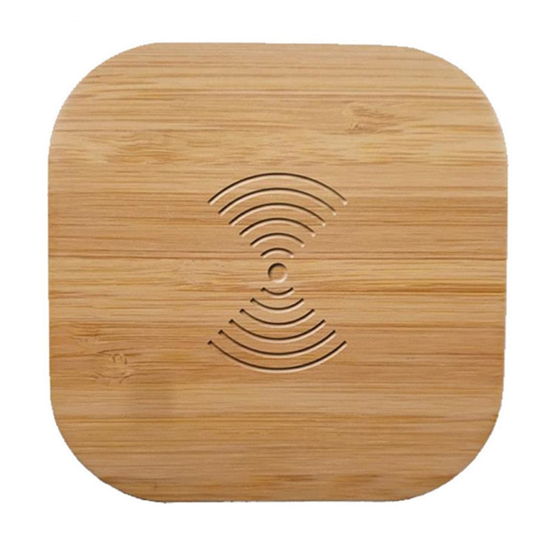 Bamboo Wireless 10W Fast Charger - Rubin Rings