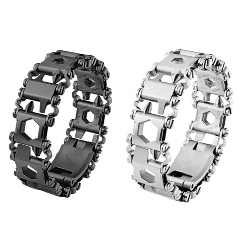 29-IN-1 Stainless Steel Multitool Bracelet