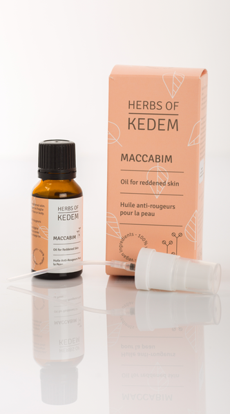 Maccabim Oil for Reddened Skin