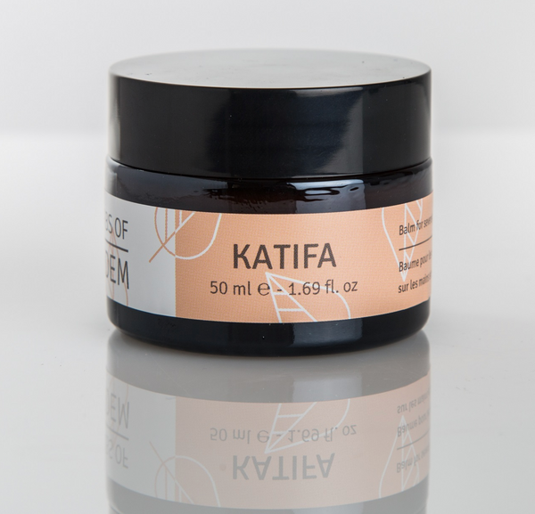 Katifa -  Balm for severely dry & thick spots on hands & scalp skin 50ml