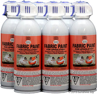 Simply Spray Upholstery Fabric Spray Paint 8 Oz. Can 6 Pack Plum