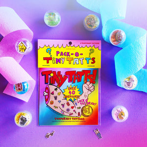Tiny Tatts! Mystery Pack of Five: Series Two