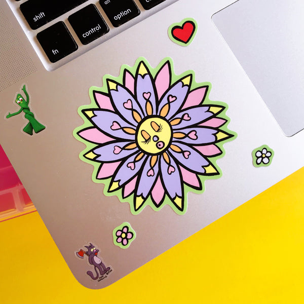 Lovely Flowers Vinyl Stickers
