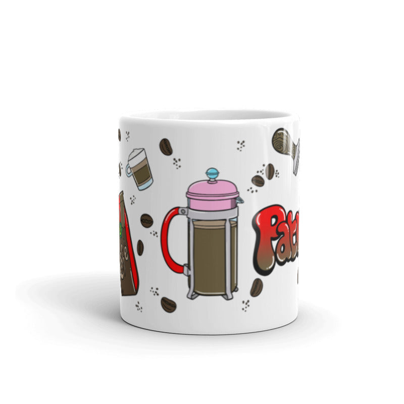Coffee Please! Name Mug