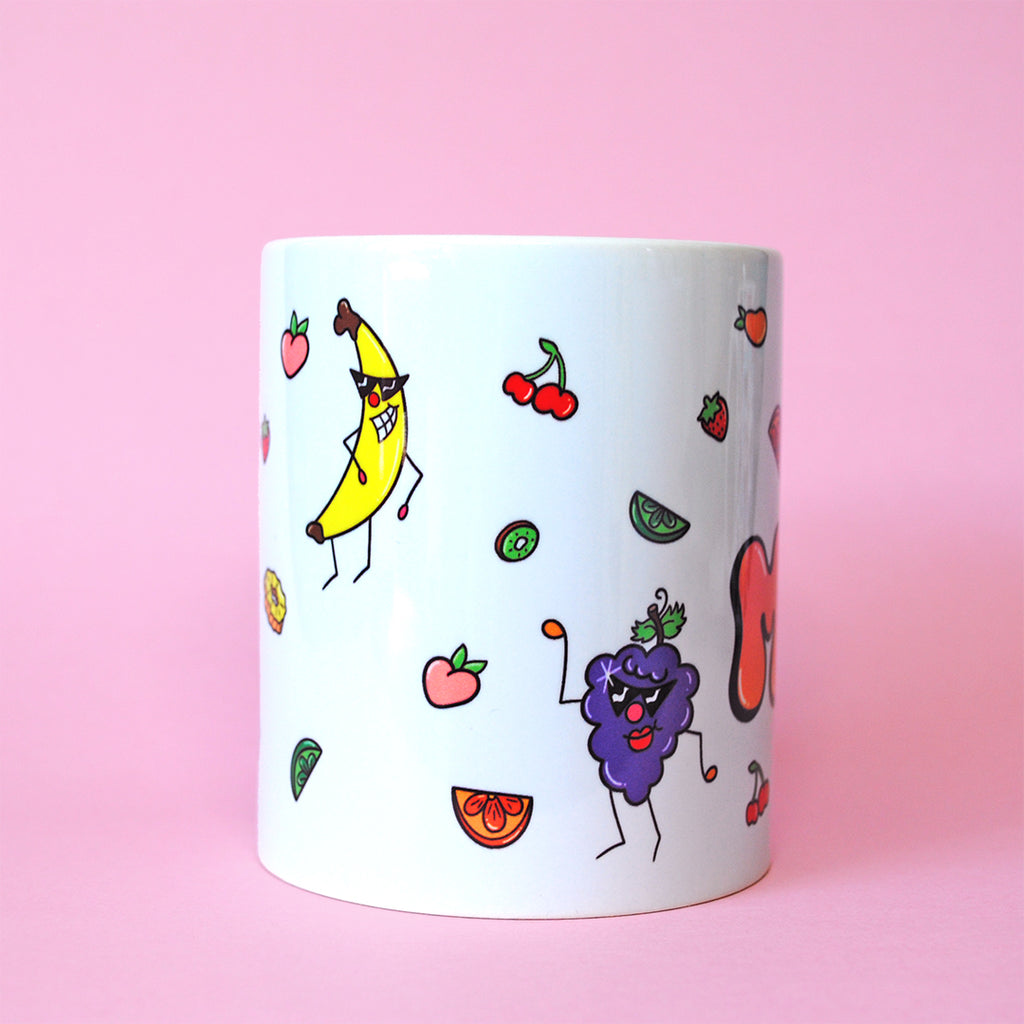 Fruit Salad Name Mug