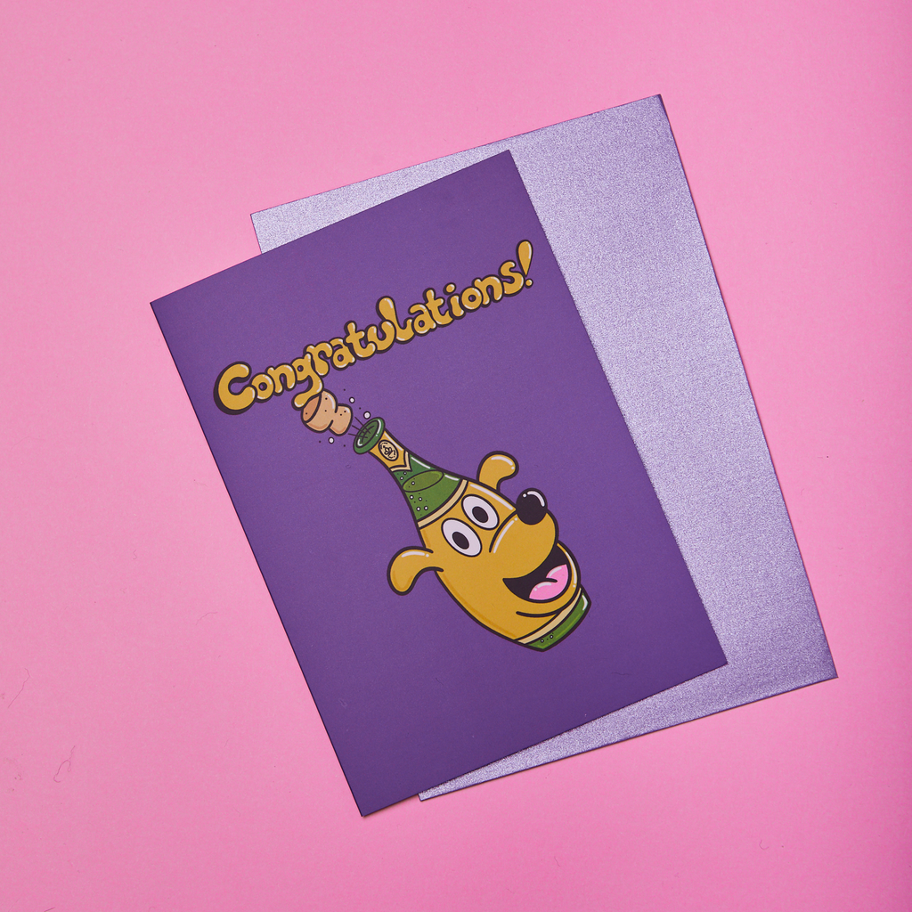'Congratulations!' Greeting Card