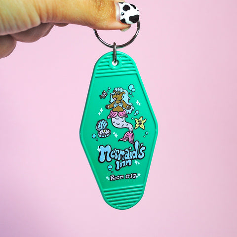 Mermaid's Inn Keychain