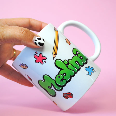 Paintbox Name Mug