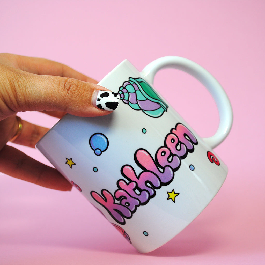 Under the Sea Name Mug