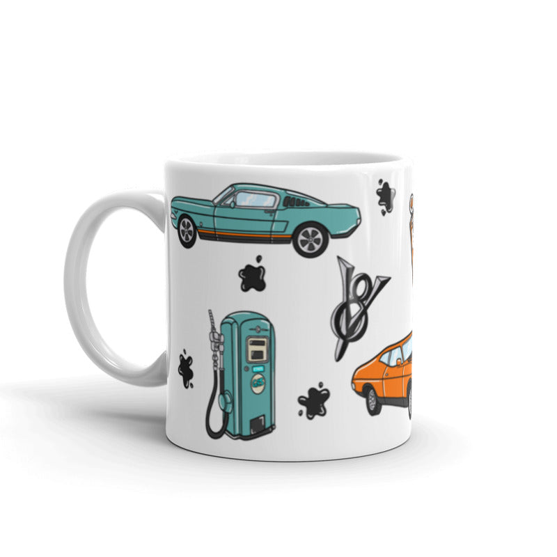Vroom Vroom! Name Mug